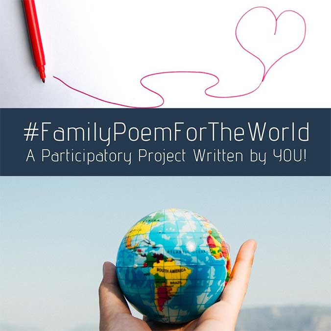 """""""A Family Poem for the World"""": A Participatory Poem-Writing Project"""