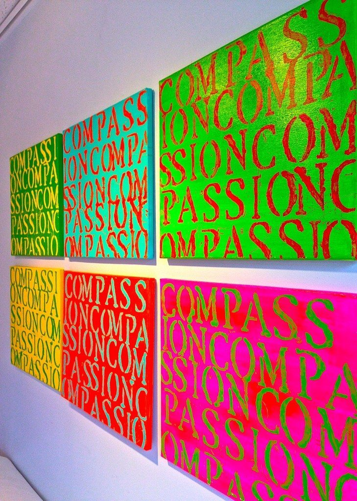 34 COMPASSION Paintings Debut - Philip Morton Gallery - 1 - June 13-15, 2014 - 14