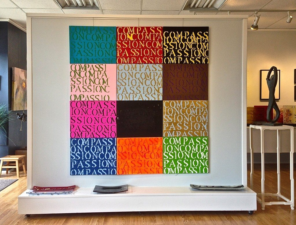 34 COMPASSION Paintings Debut - Philip Morton Gallery - 1 - June 13-15, 2014 - 5