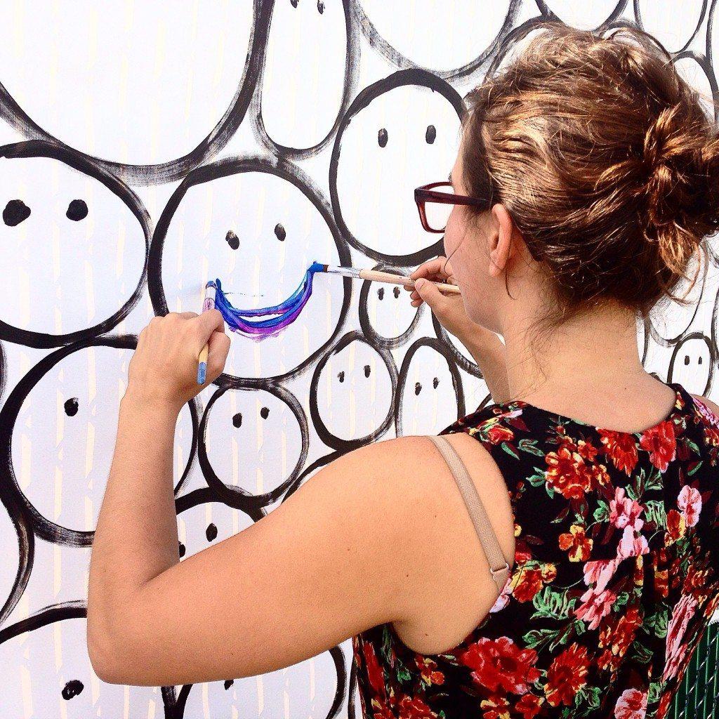DC VegFest SMILE piece by John Schlimm - September 20, 2014 -5