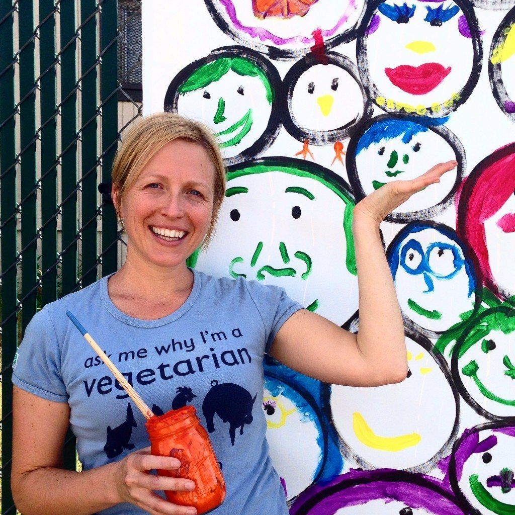 DC VegFest SMILE piece by John Schlimm - September 20, 2014 -6