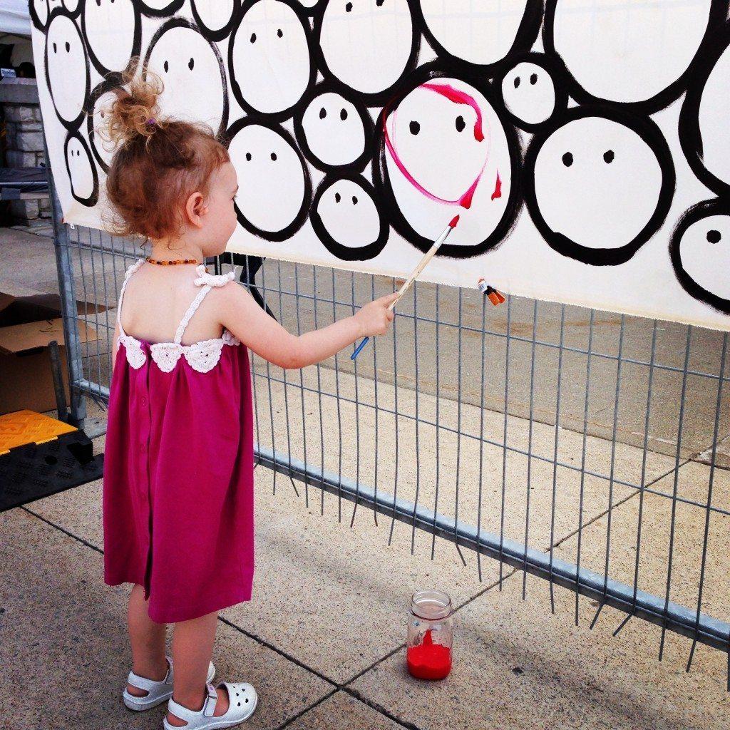 Niagara VegFest SMILE piece by John Schlimm - June 1, 2014 -4