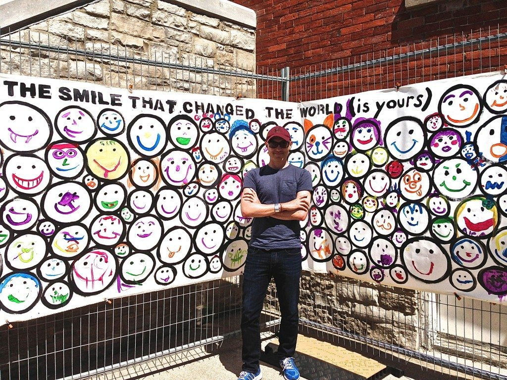 Niagara VegFest SMILE piece by John Schlimm - June 1, 2014 -6