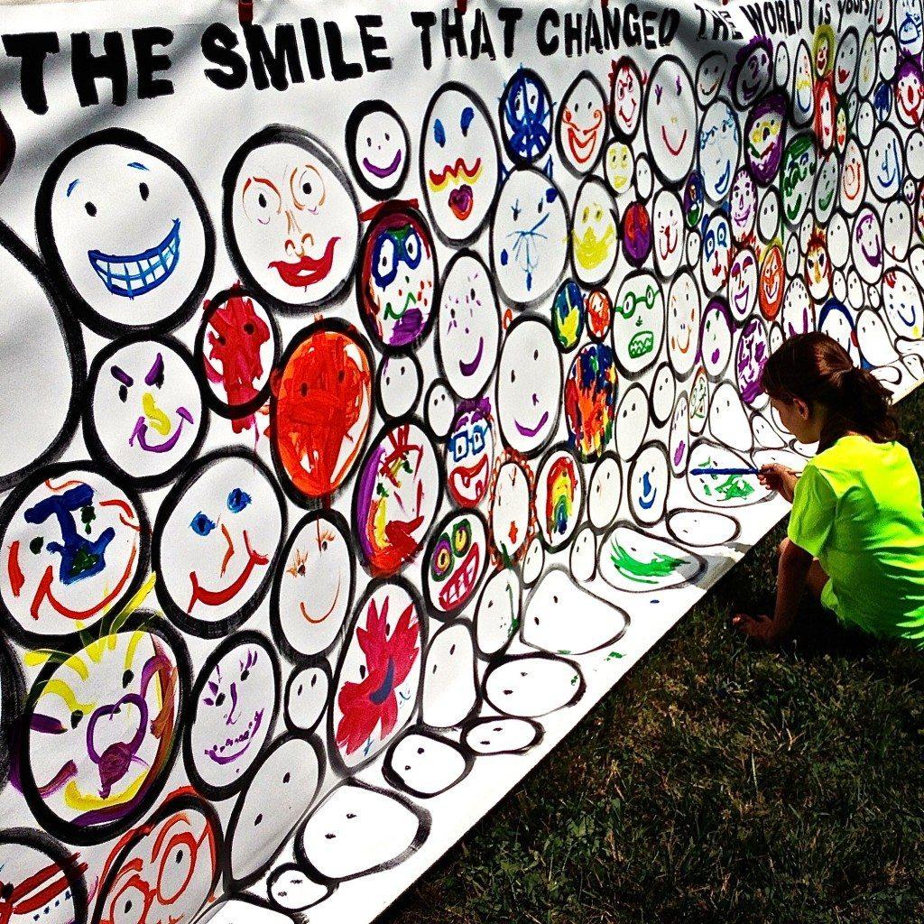 Rehoboth Beach VegFest SMILE piece by John Schlimm - June 14, 2014 -17