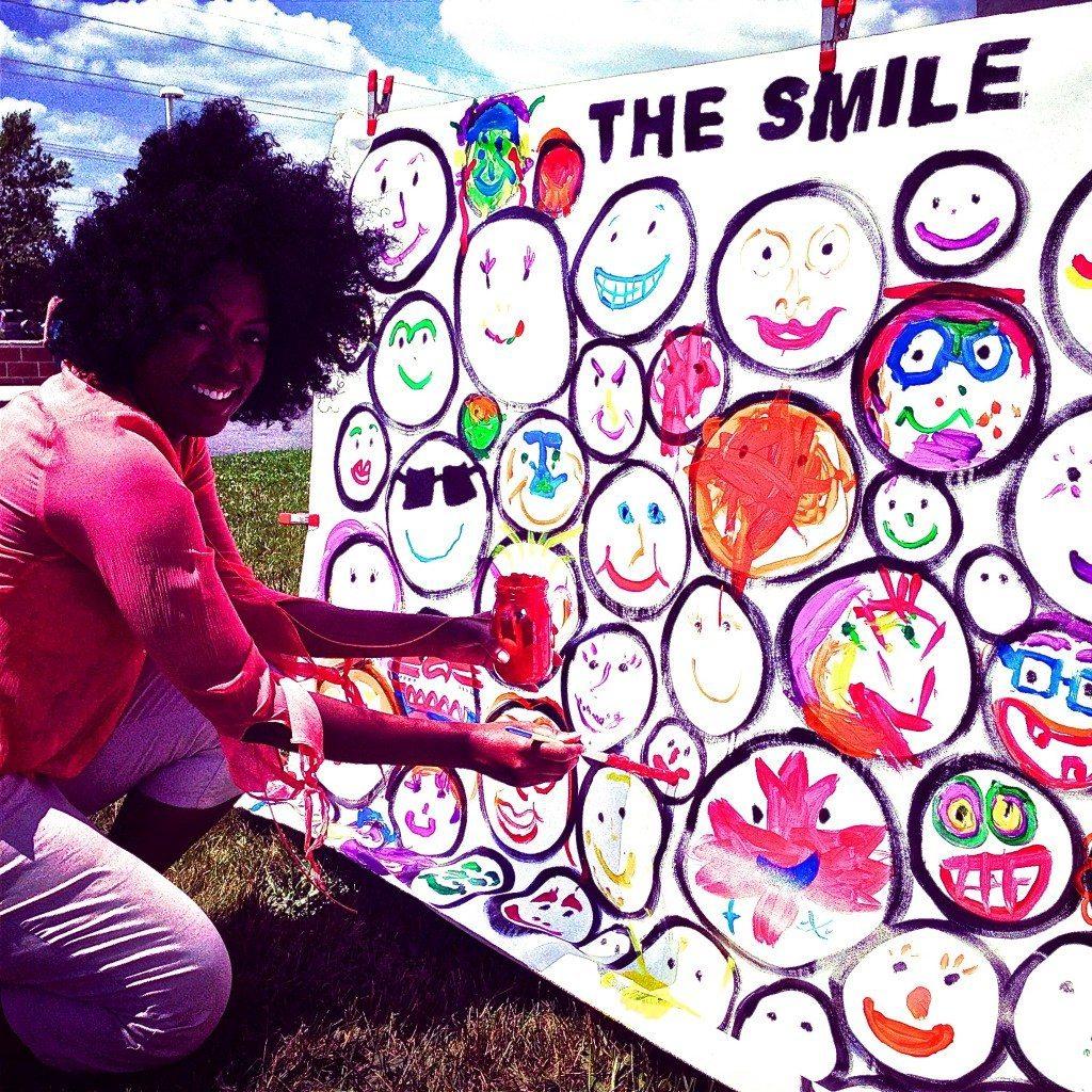 Rehoboth Beach VegFest SMILE piece by John Schlimm - June 14, 2014 -18- Ruby Lathon