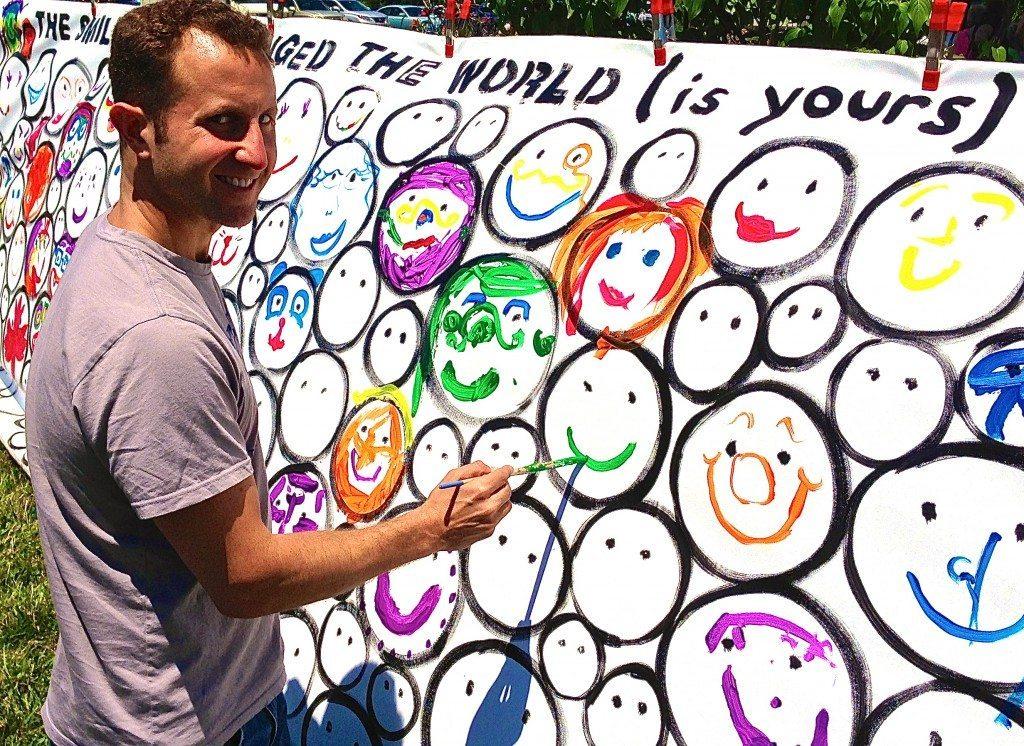 Rehoboth Beach VegFest SMILE piece by John Schlimm - June 14, 2014 -6- Paul Shapiro, HSUS