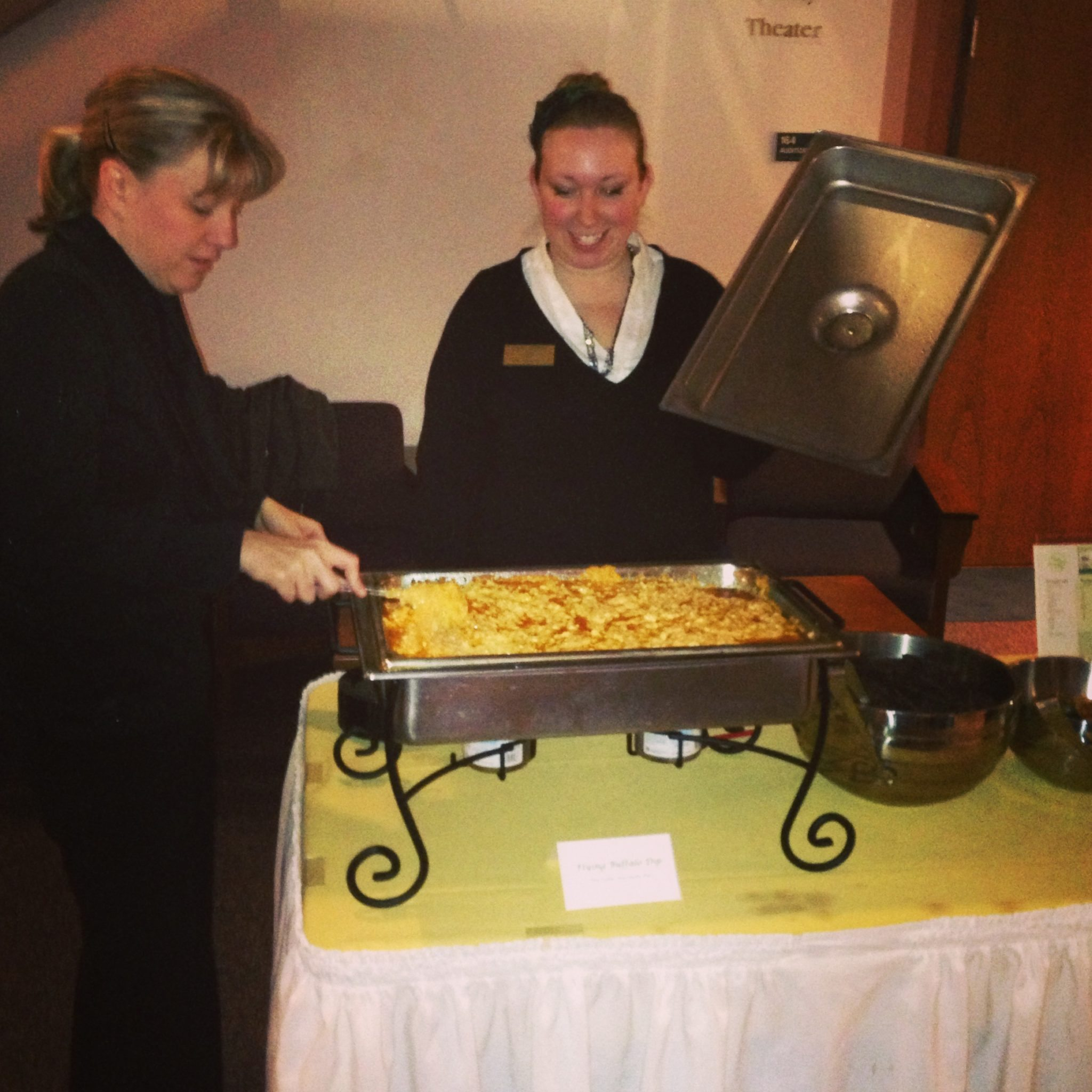 Flying Buffalo Dip (page 144) from The Cheesy Vegan ~ being served last night at The Big Cheese fundraising event