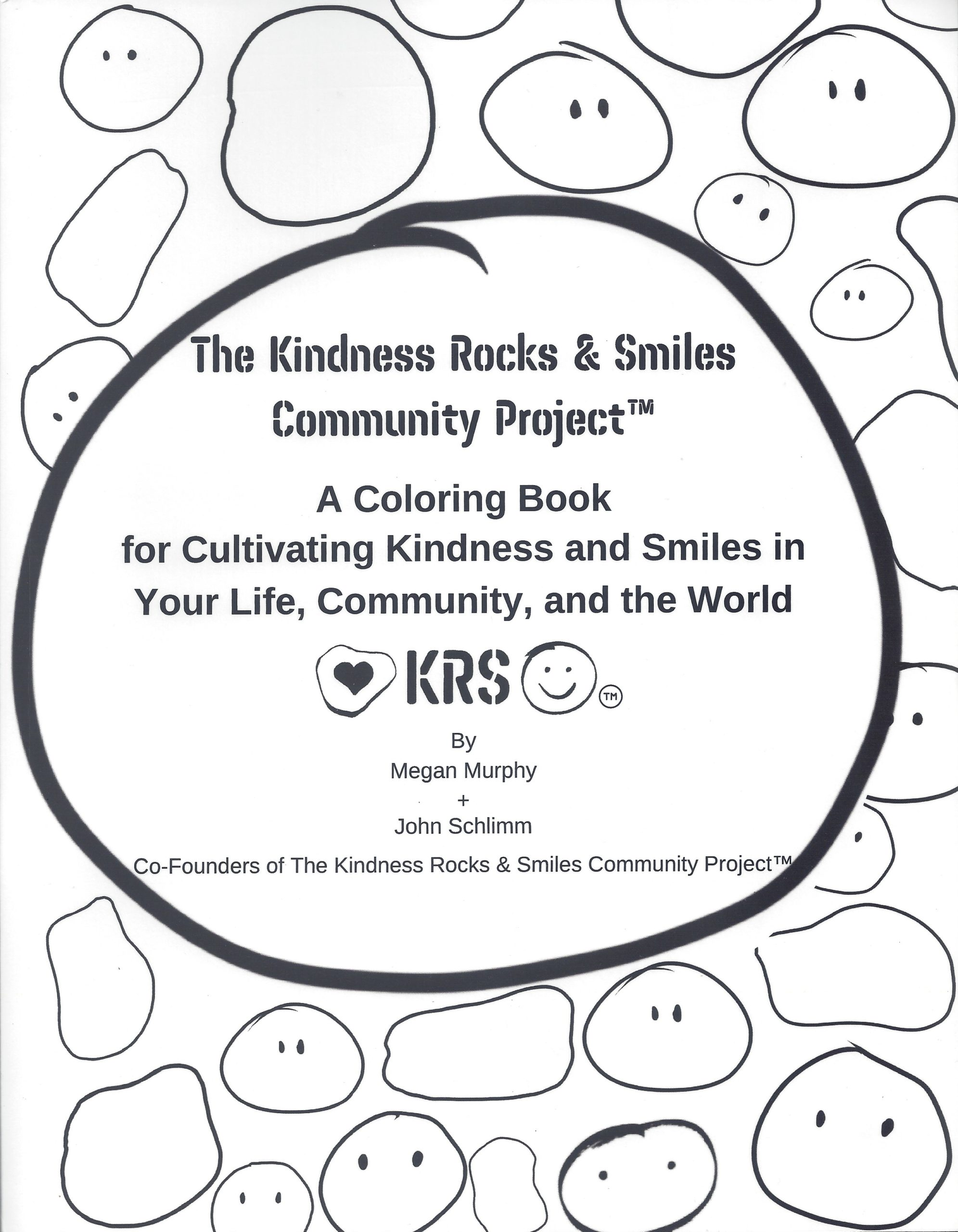 The Kindness Rocks & Smiles Community Project – COLORING BOOK